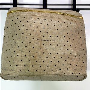 "Key Spade 'Out To Lunch"" Polka Dot Bag"